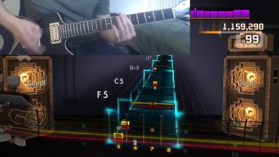 Rocksmith 2014 - Disturbed - The Night - 100%
