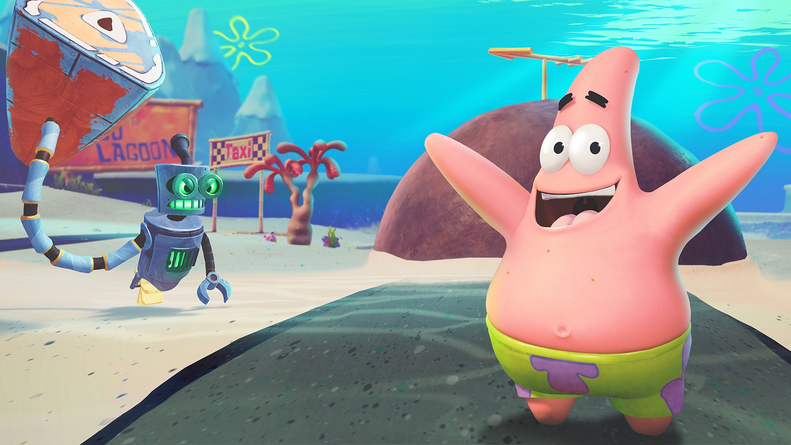Трейлер SpongeBob SquarePants: Battle for Bikini Bottom - Rehydrated, посвящённый Патрику