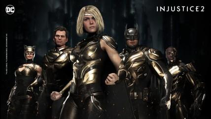 Новые шейдеры для героев и новый облик для Супермена Injustice 0