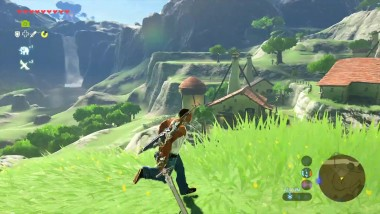 Legend of Zelda: Breath of the Wild - Carl Johnson путешествует по Hyrule