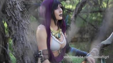 Джессика Нигри - Морриган (Косплей)