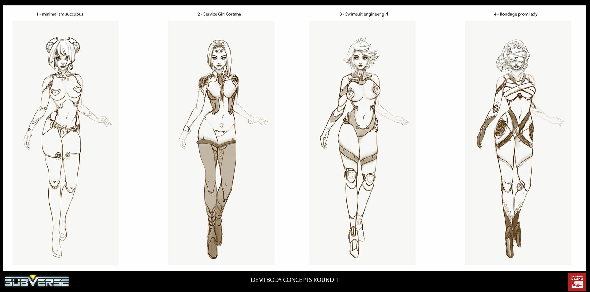 Дизайнер Subverse показал модель Деми