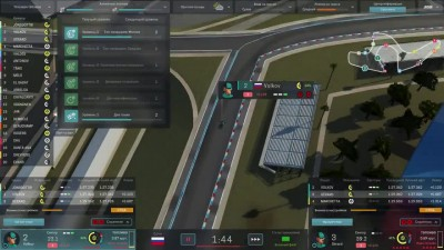Motorsport Manager PC. Режим карьеры, гонка 10 - ФИНАЛ!