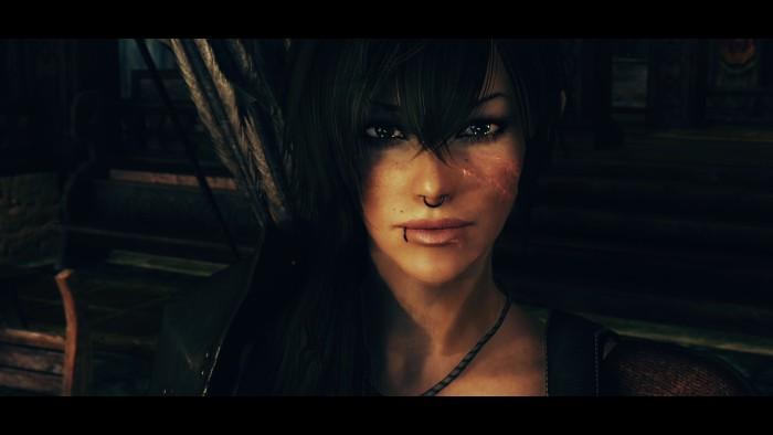 "The Elder Scrolls 5: Skyrim ""Mature skin texture and body for UNP CBBE ..."