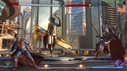 Injustice 0 | Игровой процесс со скином Bizarro