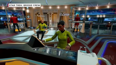 Гейплей Star Trek: Bridge Crew