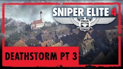 Трейлер заключительной части дополнения Deathstorm для Sniper Elite 0
