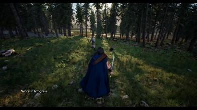 Геймплей экшен-RPG Knights of Light (pre-alpha)