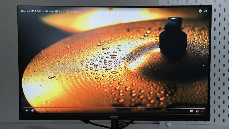Подпись к фото: Так выглядит HDR-видео в HDR-режиме
