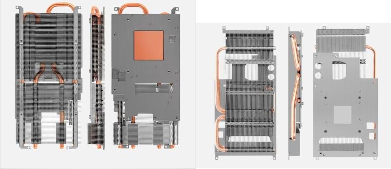 Первоначальная система охлаждения и новая система охлаждения