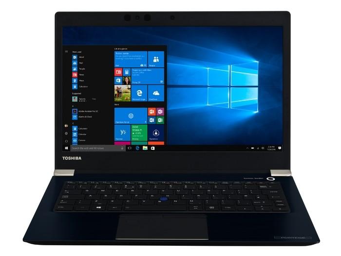 Toshiba представила бизнес-ноутбук Portege X30