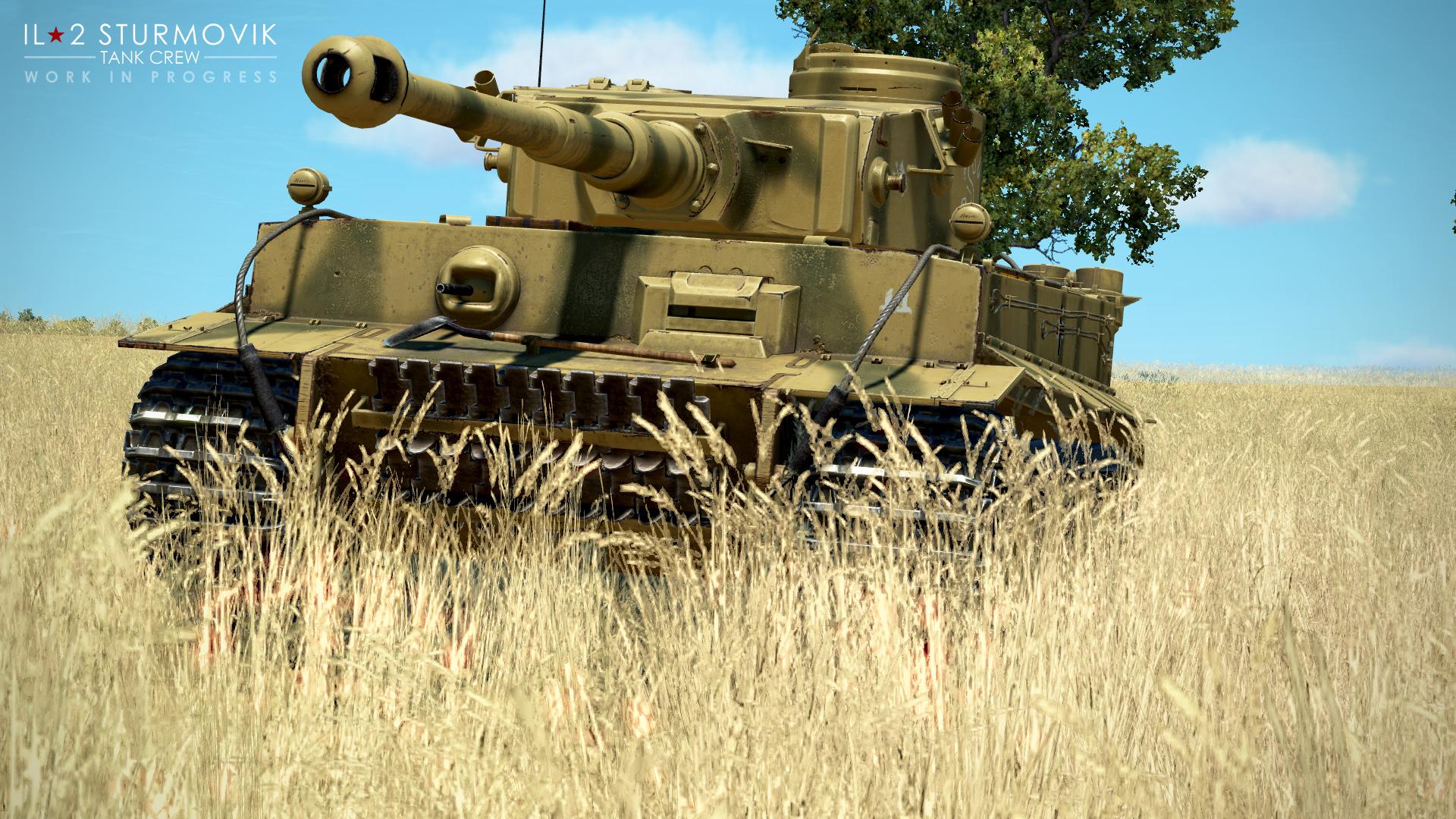 Первые скриншоты Тигра