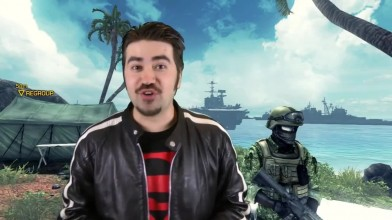 Battleship The Video Game - обзор от Angry Joe [Русская озвучка]
