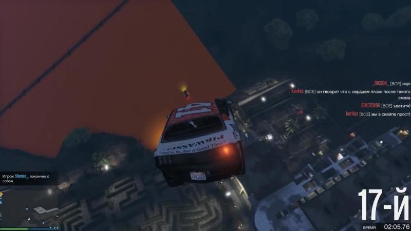 Адский хэллоуин и самые угарные гонки в GTA 5 ONLINE