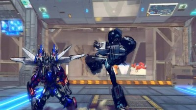 "Ultra Street Fighter 4 ""Optimus Prime vs Grimlock"""