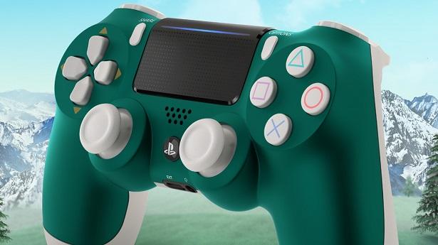 """Новый DualShock 4 в расцветке """"Альпийский зеленый"""""""