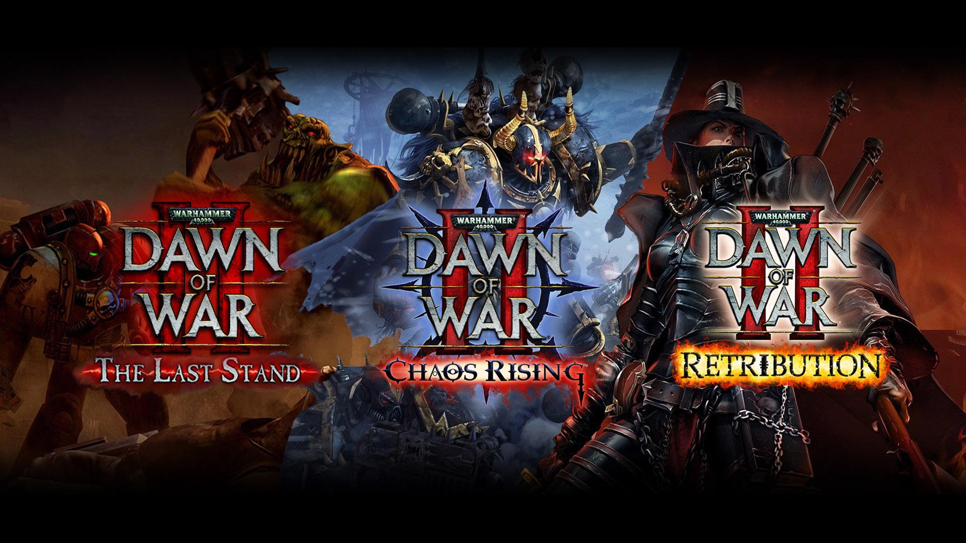 Обзор Warhammer 40k: Dawn of War II - The Last Stand, Chaos Rising, Retribution