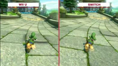 Mario Kart 8: Сравнение графики Deluxe - Wii U против коммутатора