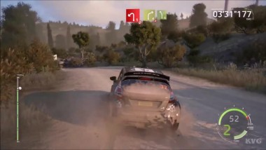 Ford Fiesta R5 - WRC 6 FIA World Rally Championship - Тест-драйв Геймплей (PC HD)