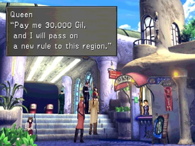 Queen of Cards – Final Fantasy 8