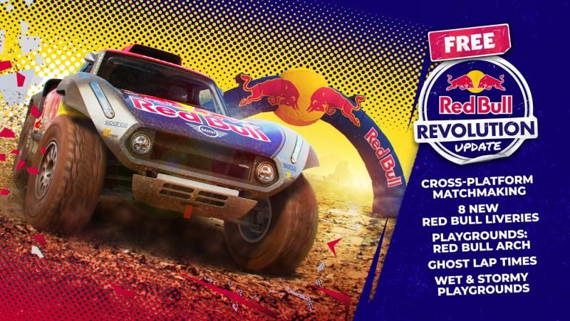 DiRT 5 - Бесплатное обновление Red Bull Revolution выйдет завтра