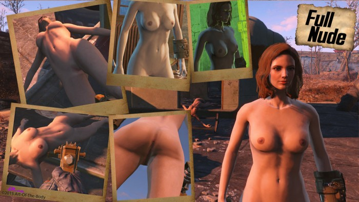 Fallout 4 - nude mods