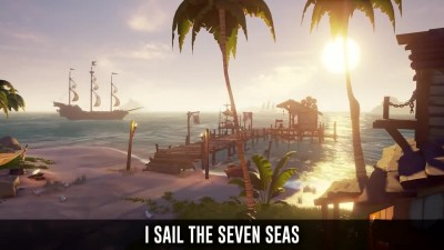 Sea of Thieves Song - X Marks The Spot [ музыкальное видео ]