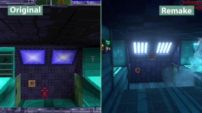 System Shock – Детальное сравнение Original vs. Remake Graphics