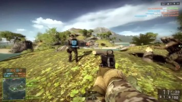 Battlefield 4 Mario (Gameplay CS-LR 4)