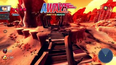 10 минут геймплея мультяшной AWAY: Journey to the Unexpected