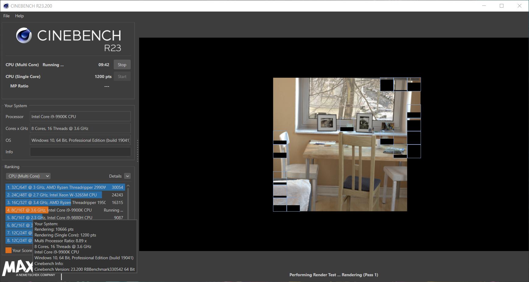 Тест производительности Cinebench R23, поддерживающий все современные ЦП, доступен для загрузки