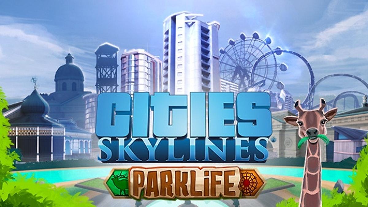 Paradox предлагает бесплатно DLC Parklife для Cities: Skylines