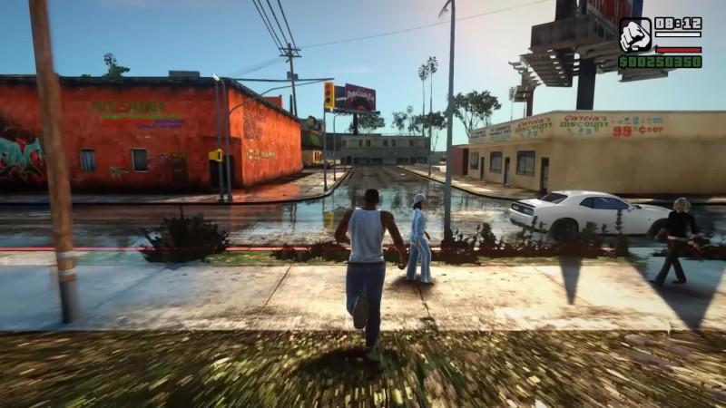 Grand Theft Auto: San Andreas - Ретектур Лос-Сантоса
