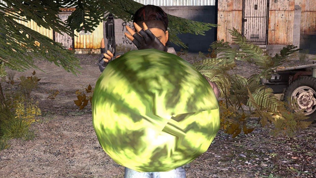 Арбузы в Half-Life 2