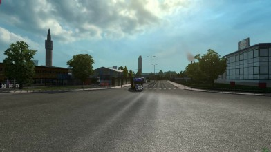 Euro Truck Simulator 2 - Drag Racing in TruckersMP