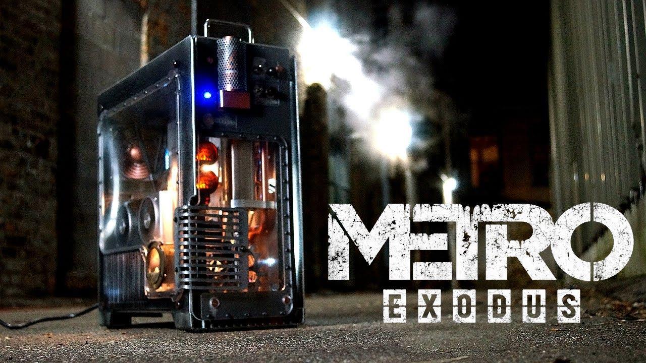 Моддер создал дымящийся системный блок в стиле Metro Exodus