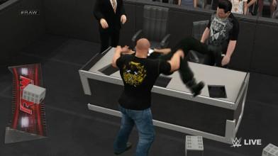 WWE2K15 - Роман Рейнс и Трипл Эйч в Экстримальной схватке
