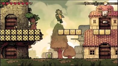 Wonder Boy: The Dragon's Trap - трейлер 8-битного режима