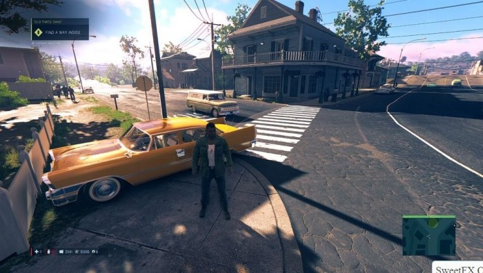 Mafia 3 graphic mod Sweetfx Colour Correction / Blur Removal to Mafia III of