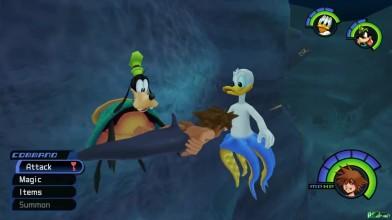 Kingdom Hearts HD 1.5 ReMIX прохождение игры часть 9 - Маленький Русальчик!