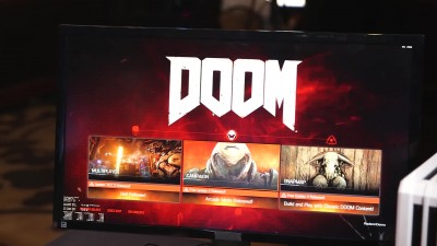 Vega in Action: DOOM at 4K