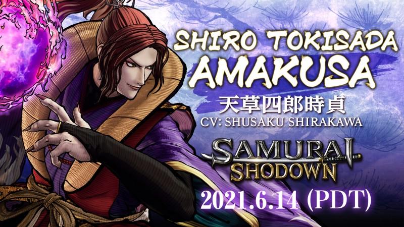Samurai Shodown появится в Steam 14 июня вместе с персонажем DLC Широ Токисада Амакуса