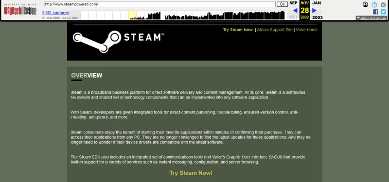 Попробуйте Steam сейчас!