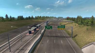 ATS - Oregon DLC - Сцены нового DLC из первых рук! + Карта!