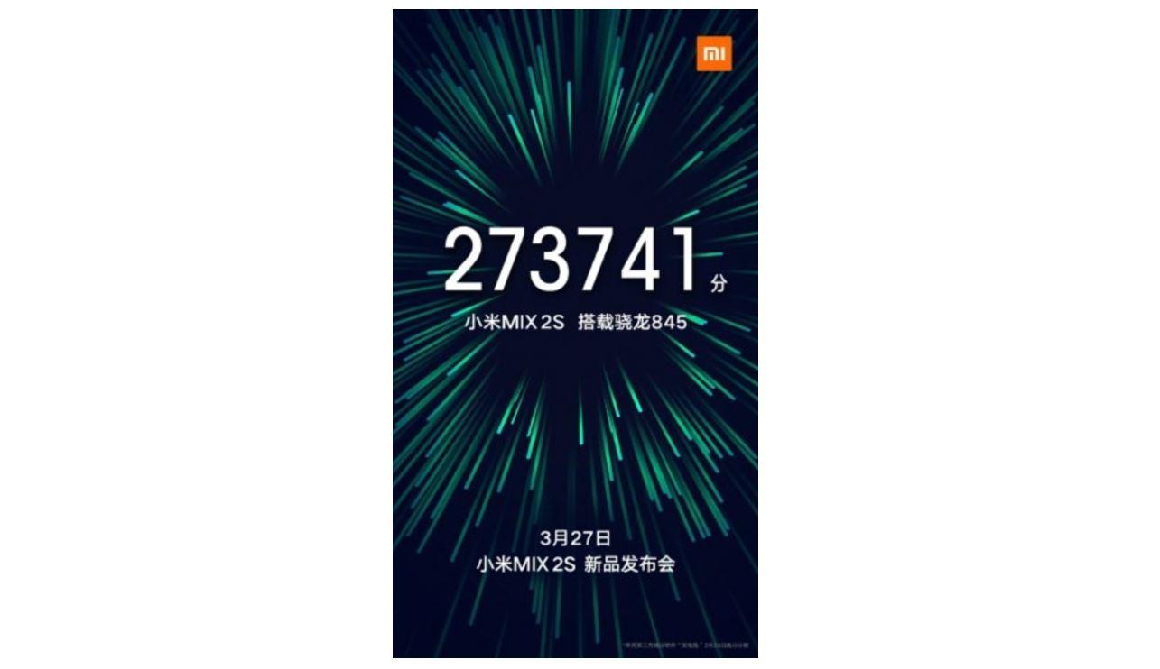 Появилась новая информация охарактеристиках Xiaomi MiMIX 2S