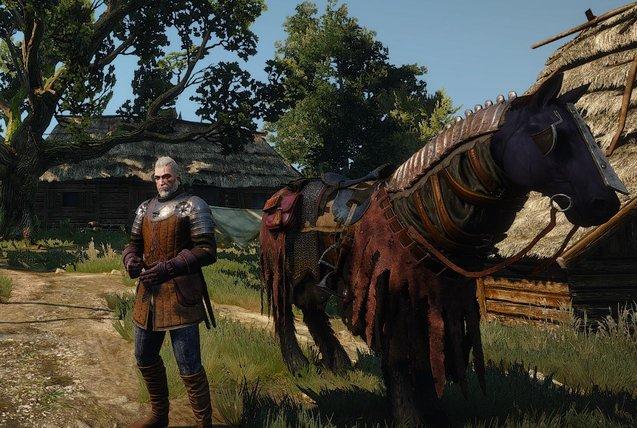 Новые скины для Плотвы (ver. 1.04) для The Witcher 3: Wild Hunt - Скриншот 3