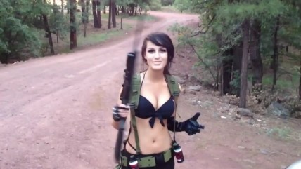 MGS5 Quiet Cosplay Косплей