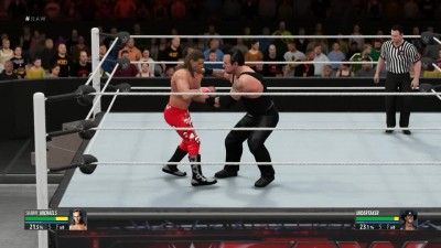 2K16 НА СЛОЖНОСТИ ЛЕГЕНДА No Holds Barred - HBK Shawn Michaels VS The Undertaker