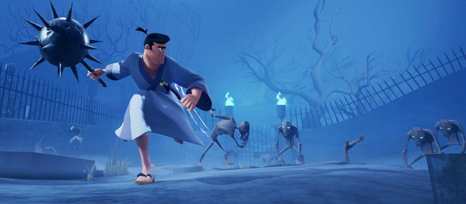 Опубликована новая запись игрового процесса Samurai Jack: Battle Through Time