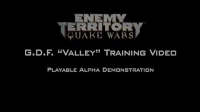 Enemy Territory: Quake Wars - GDF Tutorial